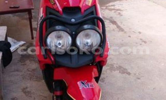 Acheter Moto Yamaha RX180 Rouge à Kigali en Rwanda