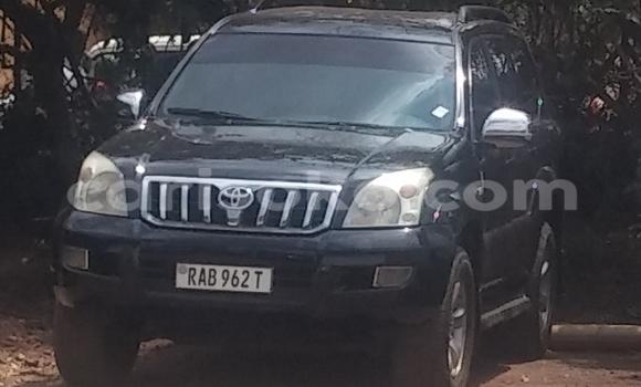 Acheter Voiture Toyota Prado Noir à Kigali en Rwanda