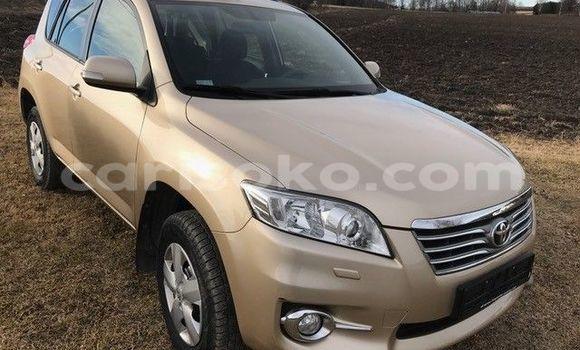 Acheter Voiture Toyota RAV4 Beige à Kigali en Rwanda