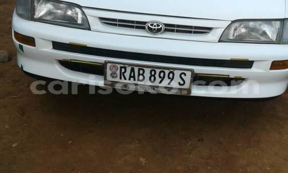 Acheter Voiture Toyota Corolla Blanc à Kigali en Rwanda