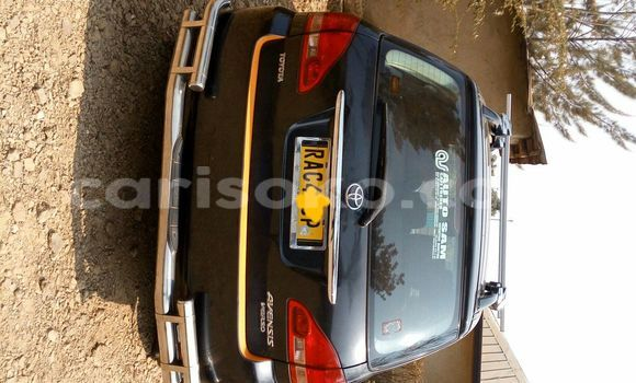 Acheter Voiture Toyota Avensis Noir à Kigali en Rwanda
